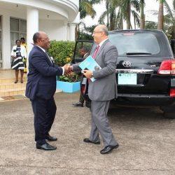 Le nouveau Directeur du Bureau UNESCO pour l'Afrique Centrale à Synergies Africaines.
