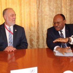 ONUSIDA en visite à Synergies Africaines
