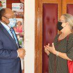 LES ADIEUX DE Mme SAVINA AMMASSARI, DIRECTRICE PAYS ONUSIDA AU CAMEROUN À SYNERGIES AFRICAINES
